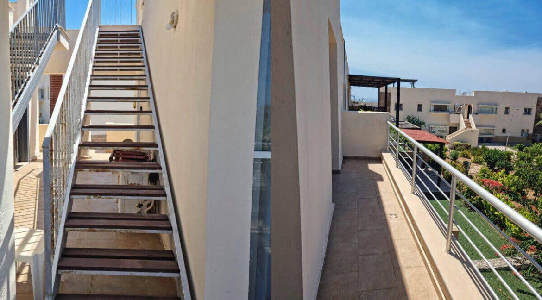 Tatlisu Coast Seaview Penthouse 2 Bed - North Cyprus Property 24