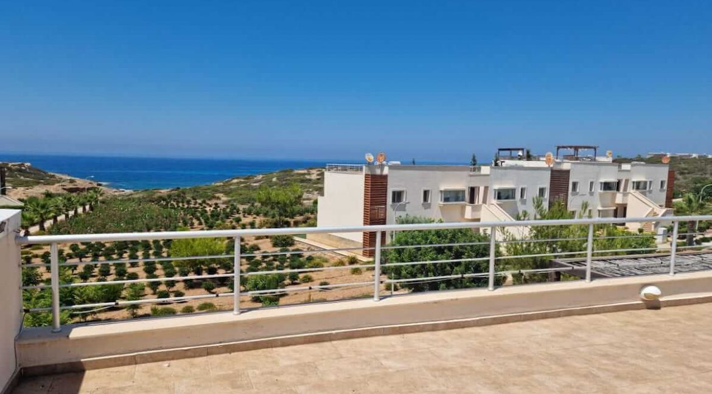 Tatlisu Coast Seaview Penthouse 2 Bed - North Cyprus Property 3